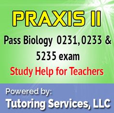 praxis biology essay The praxis ii biology: content knowledge exam is designed to assess the proficiency of biology educator candidates in the necessary knowledge and skills to teach biology in secondary schools the exam lasts two and a half hours, and contains 150 questions.