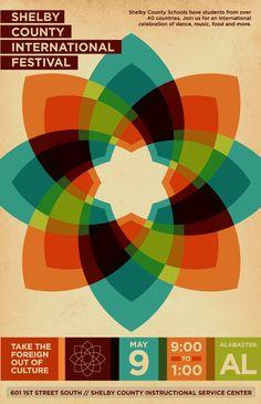 Aaron Gresham - multicultural fair poster