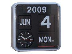 Horloge 24 cm FLIP FLAP - Vente de Horloge et Pendule - Conforama