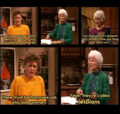 Haha Golden Girls
