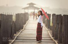 Popular on 500px : Burmese woman by SasinTipchai