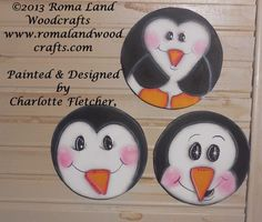 PATTERN for Whimsical Christmas Ornaments of by RomaLandWoodcrafts, $6.00