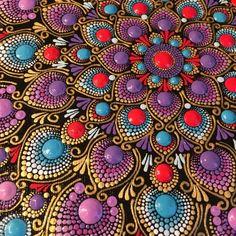 Stone Art Painting, Dot Art Painting, Mandala Painting, Mandala Dots, Mandala Design, 3rd Eye, Rock Art, Painted Rocks, Zentangle