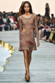 Roberto Cavalli Spring 2015 Ready-to-Wear