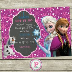 frozen-snow-princess-birthday-party-thank-you-card-chalkboard.jpg 570×570 pixels