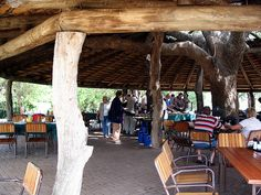 Time for breakfast in the Kruger Park