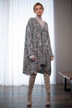Купить Кардиган Рогожка от Lesel (Лесель) российский дизайнер одежды