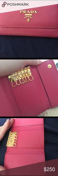 Prada key holder Like new Prada Milano DAL 1913 key holder. 100% Authentic !!! Rare Prada Bags Wallets