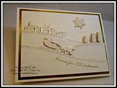"""Winter Wishes"""" - December 2015 Stampin' Pretty Pals Blog Hop"""