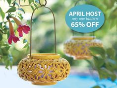 Amazing Host Specials in April!!! PartyLite is celebrating their 40th Birthday this month and we are celebrating!!!!! Let PartyLite shower YOU with gifts!!!  www.partylite.biz/scentsamillion