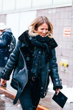 Street looks à la Fashion Week automne-hiver 2015-2016 de New York