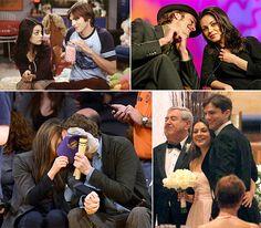 Ashton Kutcher and Mila Kunis' Hot Romance