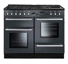 Toledo 110 Gas, Gunmetal Grey Electric Range Cookers, Electric Cooker, Electric Oven, Gas Double Oven, Kitchen Trends, Kitchen Ideas, New Kitchen