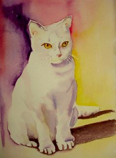 """Go Pet Your Cat"" - WetCanvas"