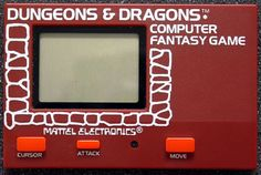 Video game companies have been playing with mobile gaming for longer than you think. Do you remember these handheld, electronic gaming toys from the Reagan era? Retro Toys, Vintage Toys, Labyrinth Game, Classic Rpg, Video Game Companies, Do You Remember, Gaming Computer, Video Game Console, Dungeons And Dragons