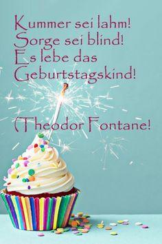 Geburtstagssprüche von witzig bis nachdenklich - da hat die Schreibblockade garantiert keine Chance.