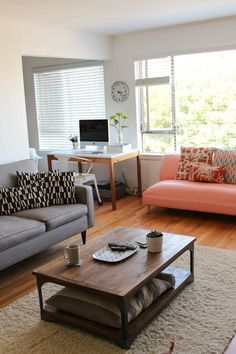 Apartment Therapy Blogger Style: Andie's Own Living Room