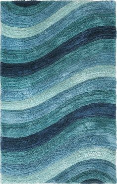 Wave Rugs for Beach Bliss Living – Beach Bliss Living – Decorating and Lifestyle Blog