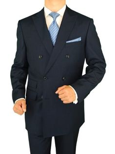Gino Valentino 2 Piece Men's Double Breasted Ticket Pocket Stripe Suit  http://www.allmenstyle.com/gino-valentino-2-piece-mens-double-breasted-ticket-pocket-stripe-suit/