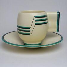 Art Deco Carlton Ware cup and saucer circa 1930