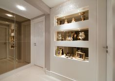 Decor: Espelho bronze