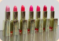 TheAmazingWorldOfJ: Milani COLORstatement Lipstick Pinks & Corals - Review & Swatches