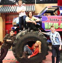 Watch Truckasaurus Monday Mayhem on Disney XD July 8th. Starts at 8:30/7:30 c #Kickin It #Lab Rats