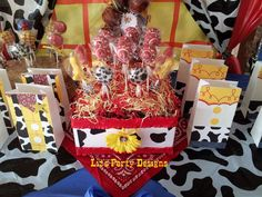 Toy Story Woody and Jessie Birthday Party Ideas | Photo 7 of 28 ...