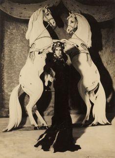 Marchesa Luisa Casati dresses as 'Empress Elisabeth of Austria' - 1935 - Photo by Man Ray - Takashi Murakami, Paolo Roversi, Yves Klein, Marchesa, Morgana Le Fay, Hans Richter, Francesca Woodman, Elsa Schiaparelli, Cecil Beaton