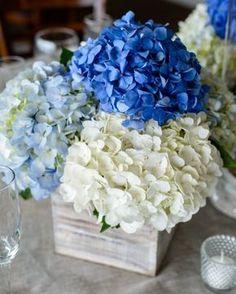 Ideas para una boda color Azul. El color azul en sus diferantes tonalidades es uno de los favoritos para la decoración de bodas. Es un color..