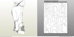 Papercraft .pdo file template for Iron Man - Mark 4 & 6 Full Armor +FOAM+.