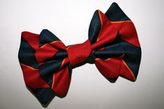 """School Girl"" bow from Sincerely, Maeko!    http://sincerelymaeko.storenvy.com"