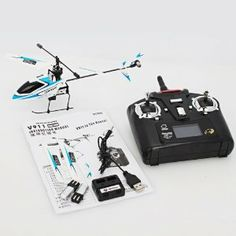 Mini V911 4 Channel 2.4GHz Remote Control Helicopter Blue by Crazy Cart. $49.99. Features: 1. New and high quality 2. Suitable for children of 14 years old & up 3. Advanced intelligentize balanced system 4. New digital control power saving mode 5. Fly left sideward/fly right sideward 6. 360 rotation. 360 orientation 7. Use special patent technology(tilting frame control structure), fly more stable 8. Ascend & descend 9. Swerve & hovering 10. Left siding flight & right sidin...