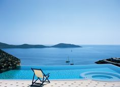 Kick back at the Domes of Elounda All Suites and Villas Spa Resort in Greece.