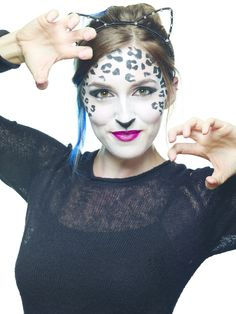 Snow Leopard Makeup #howto #tutorial