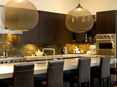Große Pendelleuchten Im Esszimmer U2013 Moderne Hängelampen   Moderne Küche  Transparent Rießig Pendelleuchten Im Esszimmer