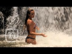 Alana Blanchard Wild On The Na Pali Coast: Alana Surfer Girl - Kauai's Na Pali coastline is one of the most beautiful, remote places on the island. Alana and good friend Leila Hurst explore the wild coast by boat, finding hidden waterfalls, crystal blue lagoons, and towing in the boat's wake alongside dolphins in the open ocean.