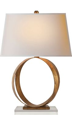 Rings Table Lamp - CHA8531 Circa Lighting