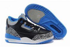 the best attitude 9e871 829df Air Jordan 3 Sport Blue For Kid Cheap Jordans, Kids Jordans, Discount  Jordans,