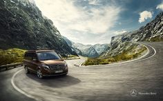 """RECOM travelled for """"on location"""" support with previz with the photographer Markus Wendler and agency Panama to Newzealand to give the new Mercedes-Benz Marco Polo its fitting and stunning scenery. Automotive Photography, Advertising Photography, Car Photography, Commercial Photography, Ashok Leyland, Brand Advertising, Ad Car, New Mercedes, Marco Polo"""