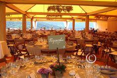 Carpa de color beige para una boda. www.bc-carpas.com