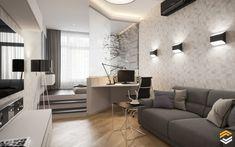 40 Small Apartment Design Ideas, Designing and Decorating Tiny Apartment! Room Design, Interior, Apartment Design, Home, Small Apartment Interior, Condo Interior, Condo Design, Interior Design, Small Apartment Design