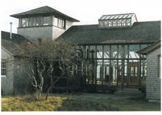 oak barn house in Chappaquiddick. By Roderick James Architects