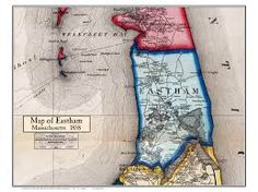 Eastham 1858 Poster Map