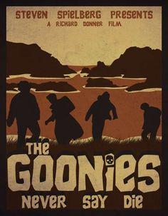 Galería: Posters de Los Goonies | Aullidos.COM