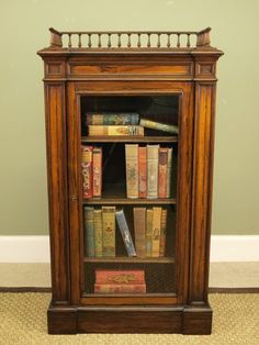 Small Bookcases Antiques And Interiors William Iv Rosewood Bookcase Cabinet