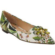Dolce & Gabbana Jeweled Flats