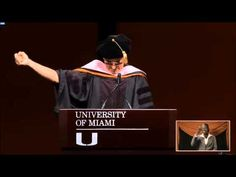 Dr. Buffett - University of Miami 2015 Commencement Address - YouTube