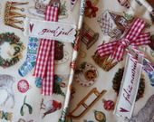 Décorations motifs de Noël quiltées et molleton : Accessoires de maison par kleine-mikala