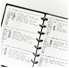 Bullet Journal Timeline - Time Ladder with meal times and chores by @shilen.qc